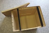 Bedna na rámky plastová 39x24