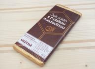 Čokoláda s Dolskou medovinou - mléčná 100 g
