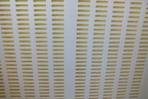 Mateří mřížka bílá - plast 500 x 500 mm