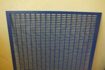Mateří mřížka litá - plast - 420 x 420 mm