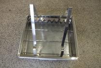 Odvíčkovací talíř dvouplástvový s odkládáním NEREZ