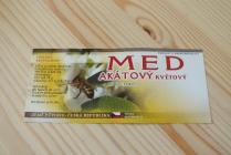 Samolepící etiketa - med (akátový nektar)