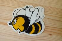 Samolepka včela - malá