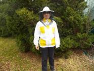 Včelařská bunda s kloboukem č. 46