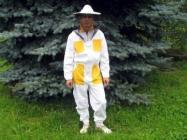 Včelařská kombinéza s kloboukem č. 48