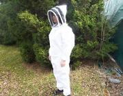 Včelařská kombinéza s kuklou 54/56 L