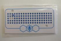 Značky opalitové - modrá barva